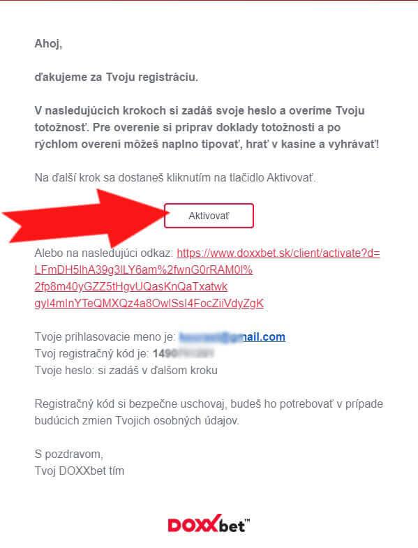 mail-aktivacia-kasino-registracie
